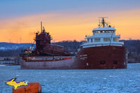 Great Lakes Freighter Kaye E Barker Home/office Decor Photo, Canvas, Metal, Prints for boat fans