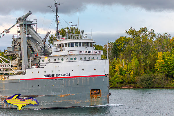 Mississagi -1738 Great Lake Freighters Sault Ste. Marie, Michigan Photography
