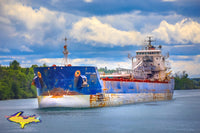 Great Lakes Freighters Radcliffe R. Latimer Algoma Central. Photos, canvas, metal, prints
