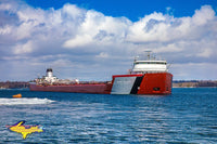 Great Lake Freighters Photography Roger Blough Photo Home Office Decor For Boat Fans
