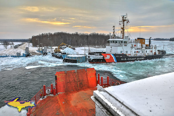 Sugar Islander II & USCGC Bristol Bay Sugar Island Scenery Photo