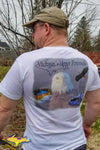 Michigan's Upper Peninsula T-Shirts Bald Eagle T-Shirt Yooper gifts & collectibles