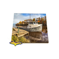 Coaster Puzzles from Michigan's Upper Peninsula Brimley, Michigan