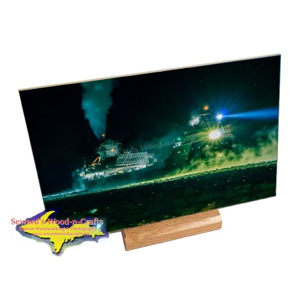 Lake Freighter Arthur M. Anderson 8x12 Photo Tile Great Lake Freighter Gifts & Collectibles
