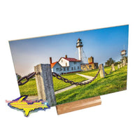 Lighthouse of Michigan on photo tiles and gifts Whitefish Point