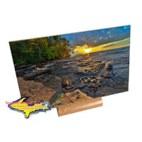 Trivets & Coasters Pictured Rocks Hurricane River Sunset -2410