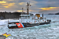 United States Coast Guard Cutter Bristol Bay Sunrise Photo Great Lakes Coast Guard Photography For Sale