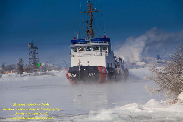 United States Coast Guard Great Lakes Photos USCG Katmai Bay Sault Ste. Marie