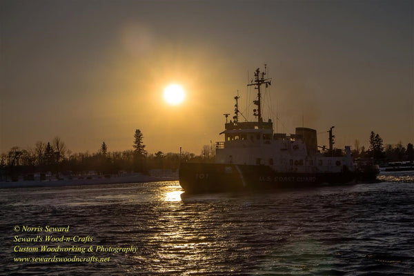 Great Lakes United States Coast Guard USCG Katmai Bay Sunset -5807