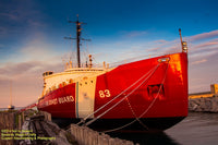 Great Lakes Freighters Photography USCG Mackinaw (WAGB-83)