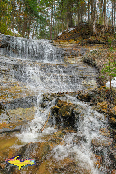 Michigan Landscape Photography Alger Falls Munising Pictured Rocks Photos