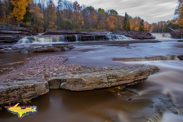 Michigan Photography Bonanza Waterfalls Porcupine Mountains Autumn Colors