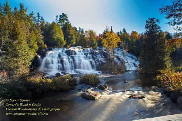 Bond Falls Photo Michigan's Upper Peninsula Photography