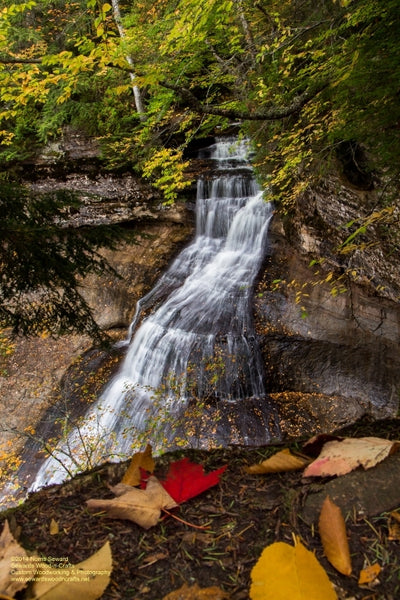 Chapel Falls Photo Pictured Rocks Images Michigan's Upper Peninsula Photography