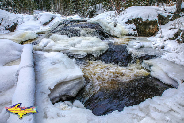 Michigan Photography Waterfalls Dead River Marquette Michigan Photos