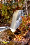 Michigan Photography Hungarian Falls Autumn Colors Keweenaw Peninsula Photos