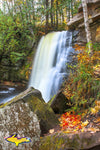 Michigan Photography Dreamy Hungarian Falls Autumn Colors Keweenaw Peninsula Photos