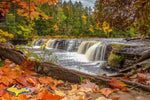 Michigan Photography Lower Tahquamenon in full fall colors
