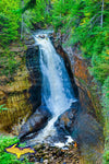Pictured Rocks Miners Waterfalls Michigan Photography Landscape Photos For Sale
