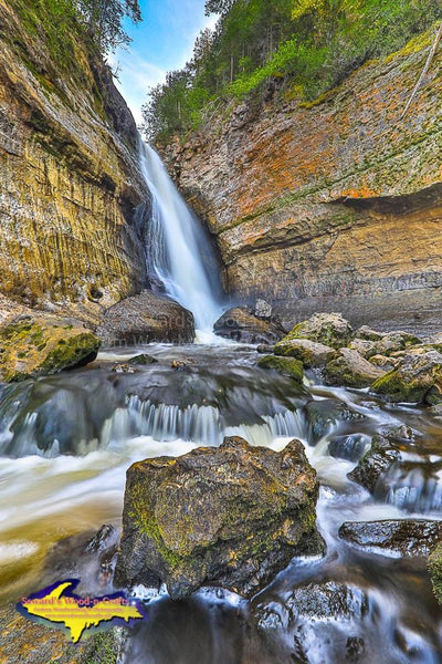 Miners Falls Photo Pictured Rocks Images Michigan's Upper Peninsula Photography For Sale