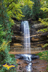 Michigan Photography Munising Falls Pictured Rocks National Lakeshore Photos