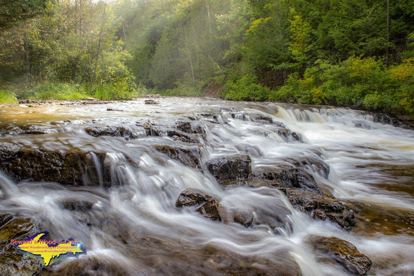 Michigan Photography Ocqueoc Waterfalls  Onaway and Rogers City Photos