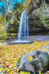 Michigan Landscape Photography Scott Falls Autumn Colors Photos
