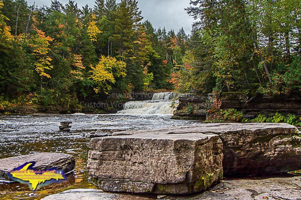 Lower Tahquamenon Falls Michigan's Upper Peninsula Photo Images For Sale