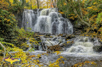 Michigan Landscape Photography Hungarian Upper Waterfalls Autumn Colors