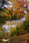 Michigan Photography Upper Tahquamenon Waterfalls Autumn Colors
