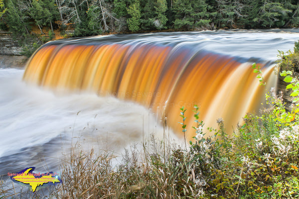 Michigan Photography Beautiful Upper Tahquamenon Waterfalls Michigan's Upper Peninsula Photos