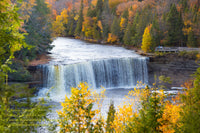 Michigan Photography Upper Tahquamenon Waterfalls Autumn Colors No Filters
