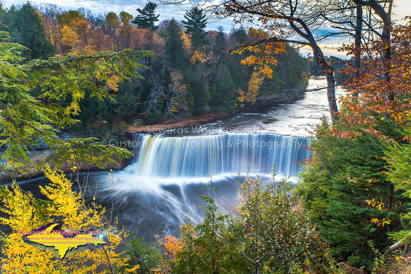 Upper Tahquamenon Falls -5085 ~ Michigan Photography