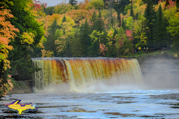 Upper Tahquamenon Falls Autumn Colors Michigan's Upper Peninsula Photos