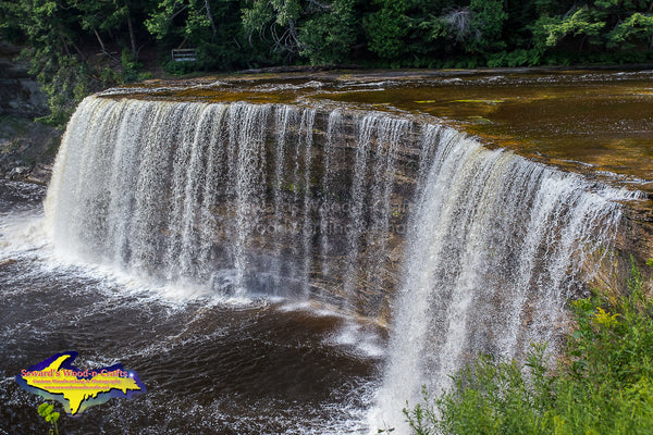 Michigan Photography Summertime at Upper Tahquamenon Falls Artwork for sale