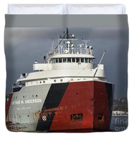 Auther M. Anderson Great Lakes Freighter Duvet Cover.  Great Lakes Fleet Freighter Gifts, Collectibles, Home/Bedroom Marine Decor