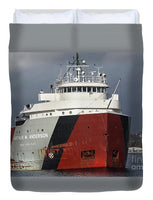 Auther M. Anderson Great Lakes Freighter Duvet Cover.  Great Lakes Fleet Freighter Gifts, Collectibles, Home/Bedroom Marine Decor For Freighter Ship Fans
