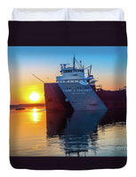 Great Lake Freighter Cason Callaway Duvet Covers Home Bedroom