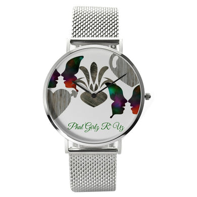 Custom and Unisex Waterproof Quartz Watch With Casual Stainless Steel Band - phat girlz r uz new and resale shop for plus size