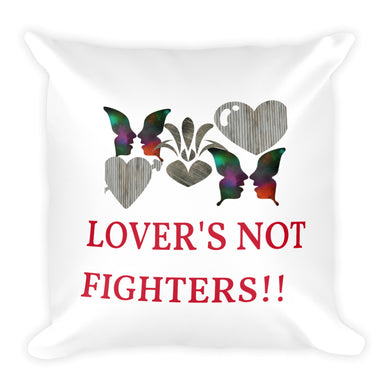 Custom and Colorful Square Hand Sewn Pillow - phat girlz r uz new and resale shop for plus size