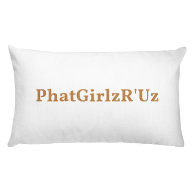 Custom  Sexy Rectangular Pillow Hand sewn - phat girlz r uz new and resale shop for plus size