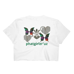 Custom Plus Size Sexy Women's 100% cotton Crop Top - phat girlz r uz new and resale shop for plus size