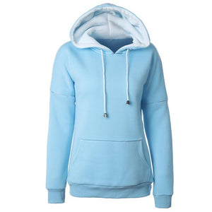 Casual Hoodies Long Sleeve 5 colors clothes for women - phat girlz r uz new and resale shop for plus size