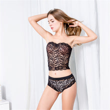 Sexy Corset Lace Push Up Vest Top Bra and Pants Sleepwear - phat girlz r uz new and resale shop for plus size