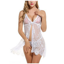 Women Flower Lace Babydoll V Strap Chemise - phat girlz r uz new and resale shop for plus size
