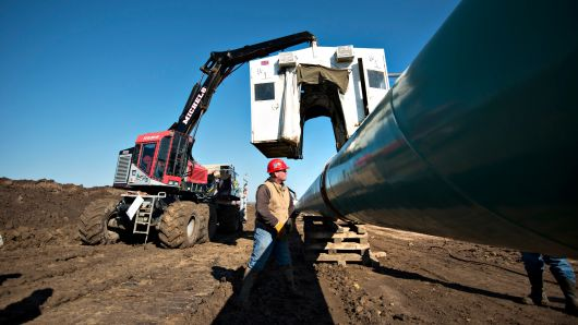 US judge halts construction of the Keystone XL oil pipeline