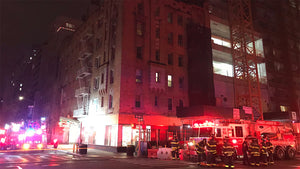 Upper East Side building evacuated after debris falls from construction site