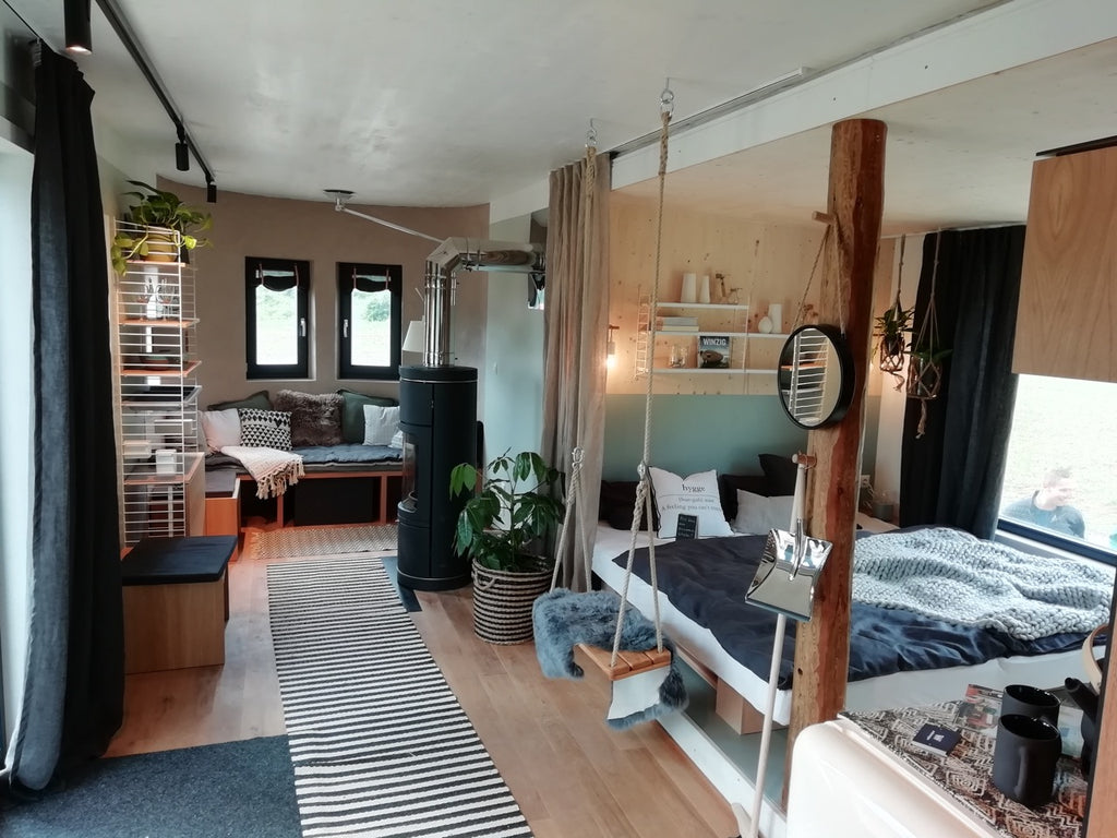 Tiny House: diseño de mobiliario equipa Tiny House