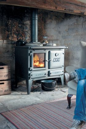 Stunning Wood burning cooker for all sized kitchens