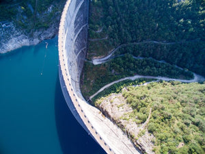 The Water Footprint Of Hydroelectric Dam Construction